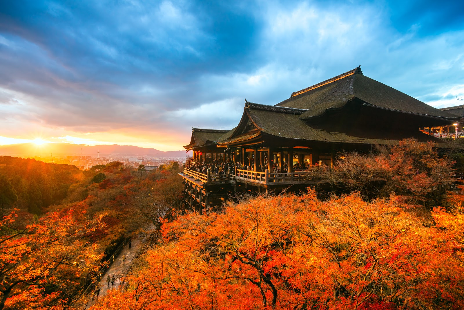 Mùa thu – mùa du lịch lý tưởng nhất Nhật Bản